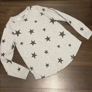 Stars long sleeve top. Worn once.